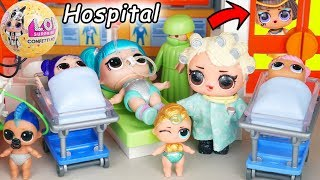 LOL Surprise Dolls in Big Ball Playmobil Hospital with Full Collection + Wedding JOJO SIWA