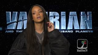 rihanna talks about her role as bubble in upcoming valerian