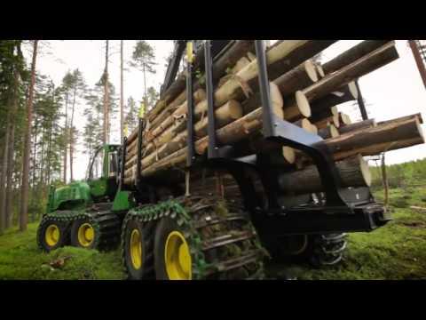 John Deere G Series - Harvester and Forwarder