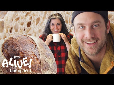 Brad and Claire Make Sourdough Bread | It's Alive | Bon Apptit