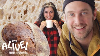 Brad and Claire Make Sourdough Bread | It\'s Alive | Bon Appétit