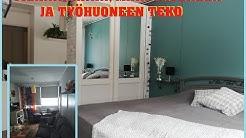 TEE SE ITSE, Tilanjakajan teko sekä myös työhuone / Makkuhuone ja sisustus