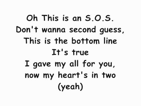 Jonas Brothers~ S O S Lyrics