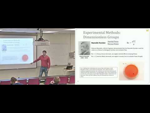 Lecture 26  Dimensionless Groups, Modeling, and Similitude Video and Slides Enhanced Quality