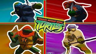 ВСЕ КОСТЮМЫ ЧЕРЕПАШЕК В TMNT 2003 / ОБЗОР СКИНОВ В Teenage Mutant Ninja Turtles Новые Приключения