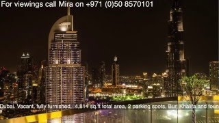 For Sale: Penthouse in the Signature Damac Maison, Downtown Dubai