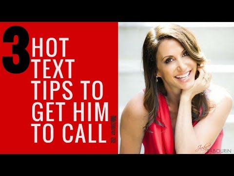 3 Hot Text Tips to Get Him to Call! 📲| Engaged at Any Age - Love & Dating Coaching with Jaki