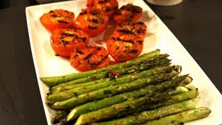 Grilled Tomatoes And Asparagus Bbq Recipe - Pitmaster X