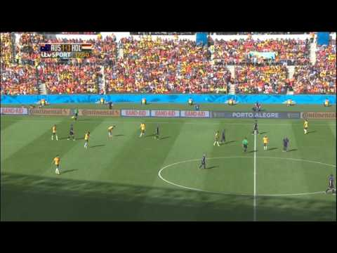 Australia Netherlands 2014 World Cup Full Game ITV Socceroos Holland Dutch