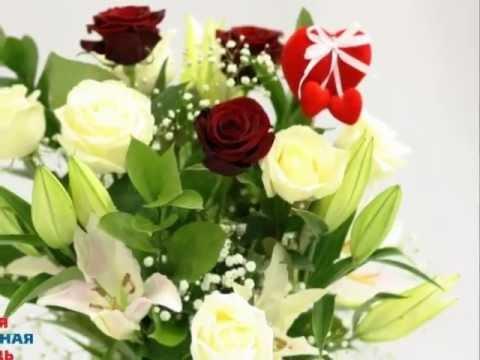 В сердце моем... из лилий и роз.wmv