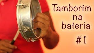 Tamborim na bateria #1