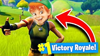 *NEW* Peter Pan Skin In Fortnite Battle Royal!