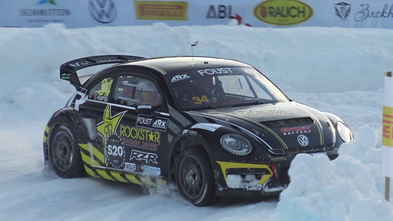"2020 GP Ice Race ""skijoring"" in Austria"