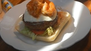 Cajun Surf & Turf Burger