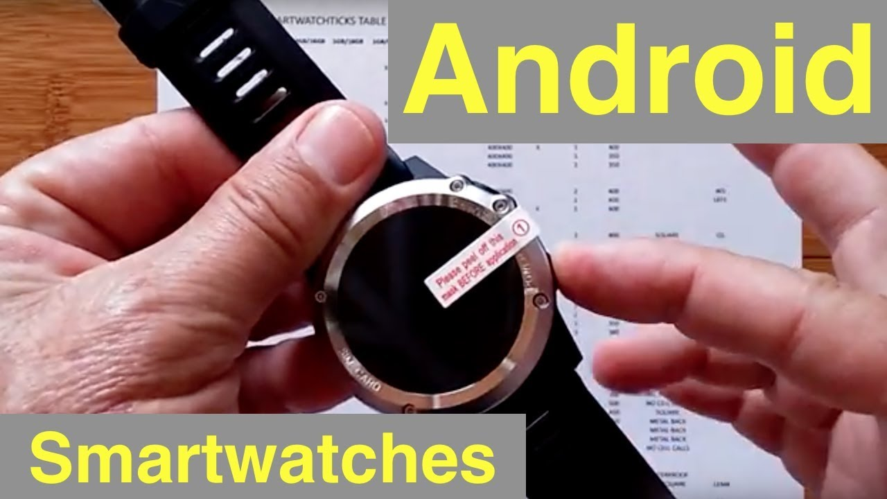 How to Choose an Android Smartwatch