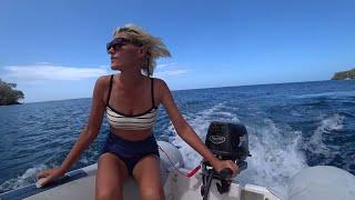 71 Яхтинг на Карибах Уходим из Гренады С 8 марта днём феминисток всего мира