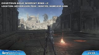 Dark Souls 3 - All +2 Ring Locations (New Game++ Rings)