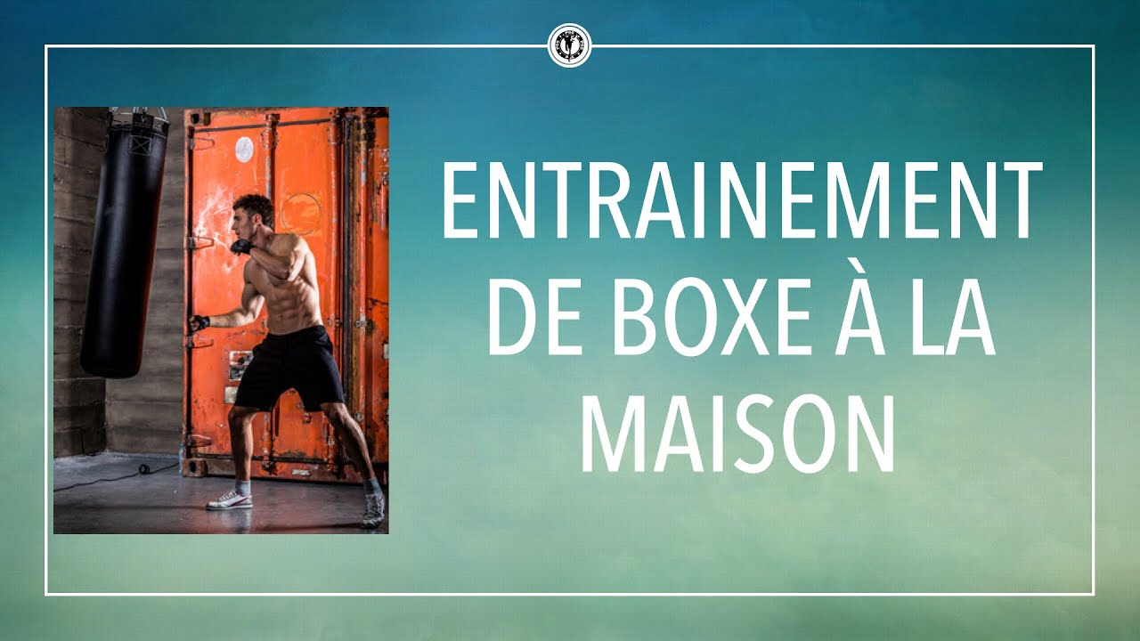 entrainement de boxe la maison youtube. Black Bedroom Furniture Sets. Home Design Ideas