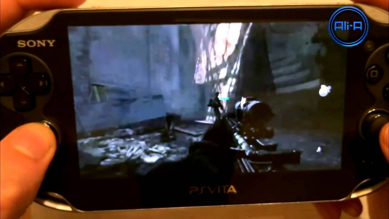 REMOTE PLAY Call of Duty GHOSTS REVIEW HD PS Vita PS4 Gameplay COD Ghost Playstation 4 - YouTube