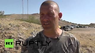 "USA: Armed militia defend Bundy ranch from ""government corruption"""