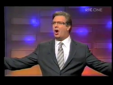 Late Late Show presented by Gerry Ryan - Full episode - 2008