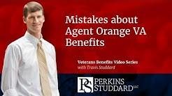 Mistakes about Agent Orange VA Benefits