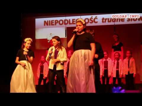 GOŁDAP. Fragmenty koncertu SP3 z okazji Narodowego Święta Niepodległości