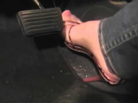 Pedal pumping  heels