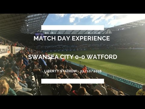 Groundhop at the Liberty Stadium - Swansea City vs. Watford - GOD HELP ME...