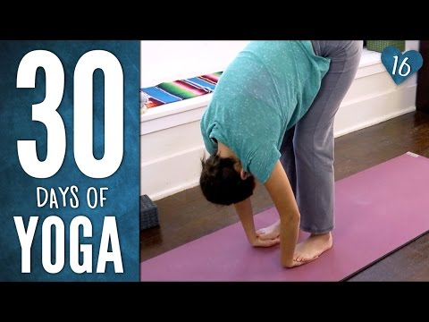 Day 16 - Easy Breezy Beautiful Yoga - 30 Days of Yoga