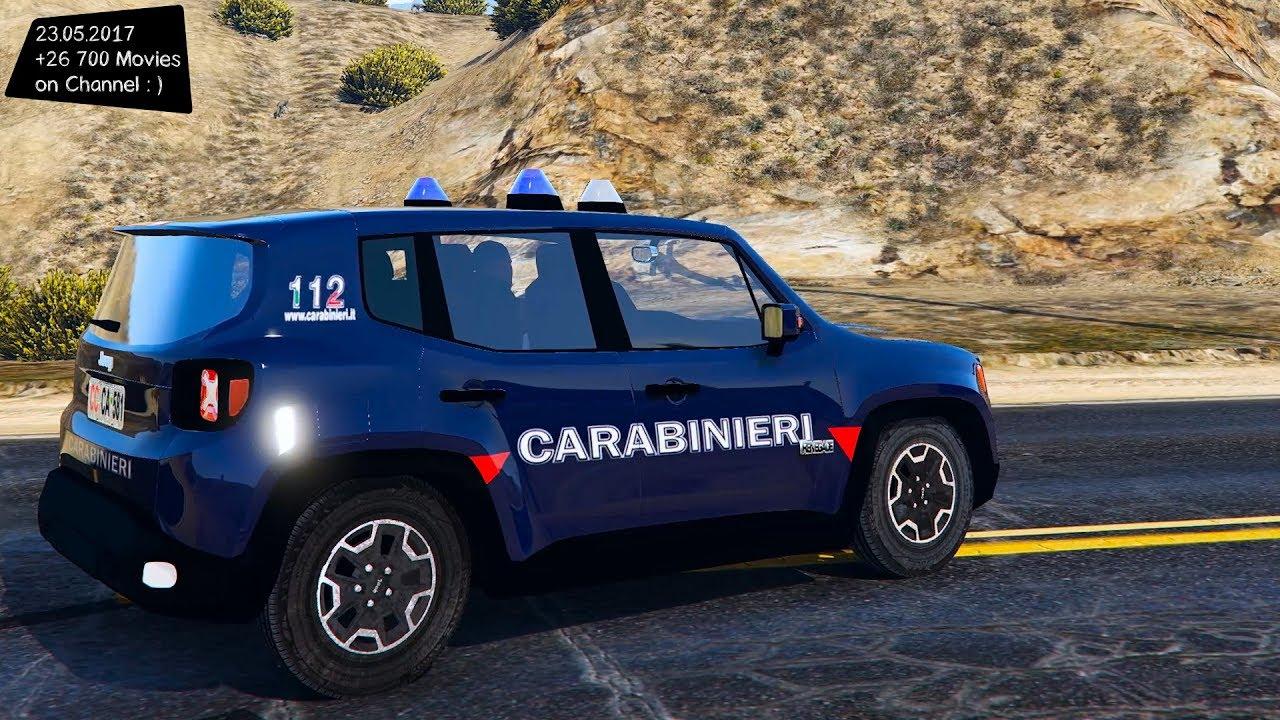 jeep renegade carabinieri new enb top speed test gta mod. Black Bedroom Furniture Sets. Home Design Ideas
