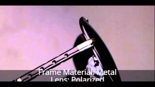 Men's Fashion Polarized Aviator/Driving Sunglasses Brand Design