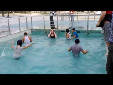 Water Fight In Baku