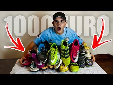 Ho SPESO 1000€ in SCARPE DA CALCIO!!!! - Tutte le mie scarpe da calcio