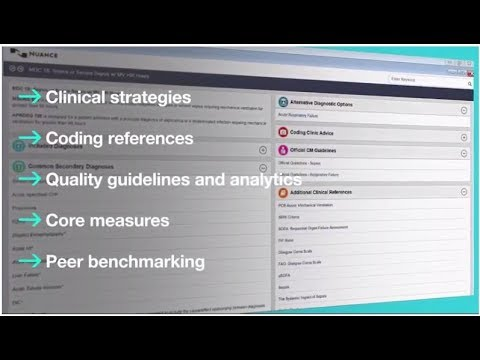 Enhancing clinical documentation with Nuance CDI