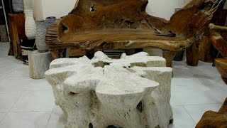 Teak Root Coffee Tables | Teak Root Furniture