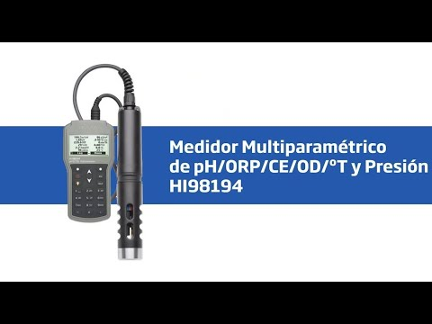 HI 98194 Medidor Multiparametrico De PH/ORP/CE/OD/Presión/Temperatura