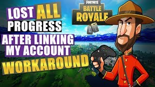 Fortnite   Lost all Purchases and Progress After Linking Accounts Info and Workaround