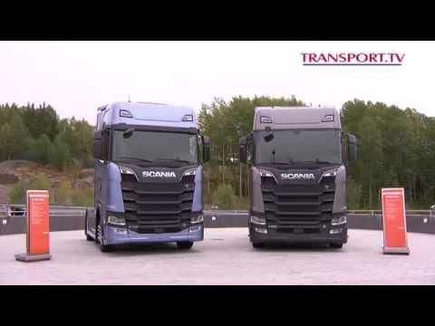 TRANSPORT.TV 33: De nieuwe Scania R en S getest in Zweden