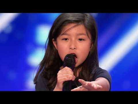 Nine-year-old HK girl knocks 'em dead on America's Got Talent