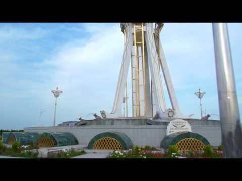 2017 Turkmenistan, JD W540 AHAL road trip. NO SOUND