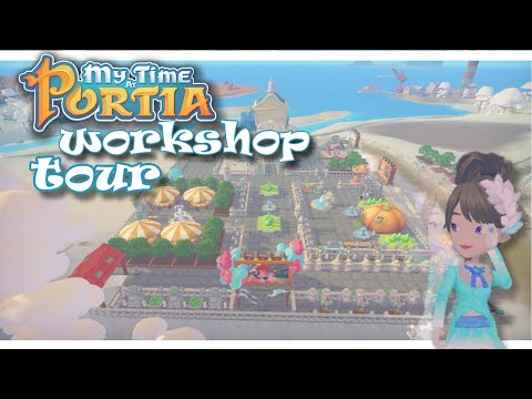 💙 my time at portia workshop tour 💙 |