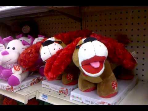 Singing Valentine's Day Pups