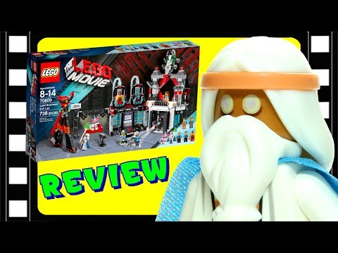 LEGO Movie Lord Business' Evil Lair 70809 Review - BrickQueen