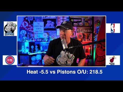 Miami Heat vs Detroit Pistons 1/18/21 Free NBA Pick and Prediction NBA Betting Tips