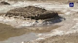 تراجع جديد في مستوى مياه البحر الميت (12/8/2019)