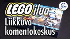 LEGOilua: Liikkuva komentokeskus