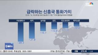 [SBSCNBC뉴스 라이브]  코스피 급락...신흥국발 금융위기? [집중분석]