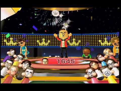 Wii Party - Spinoff (Expert Mode) Player Mommy vs Shinta vs Eduardo vs Greg