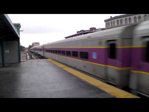 Mbta Express Train @ Lynn Station!!!!!!!